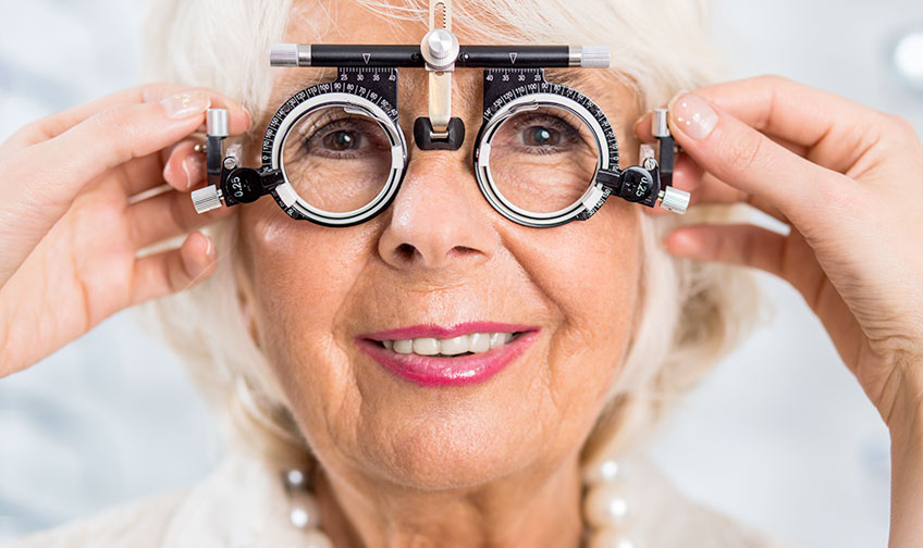 Changes in vision while aging