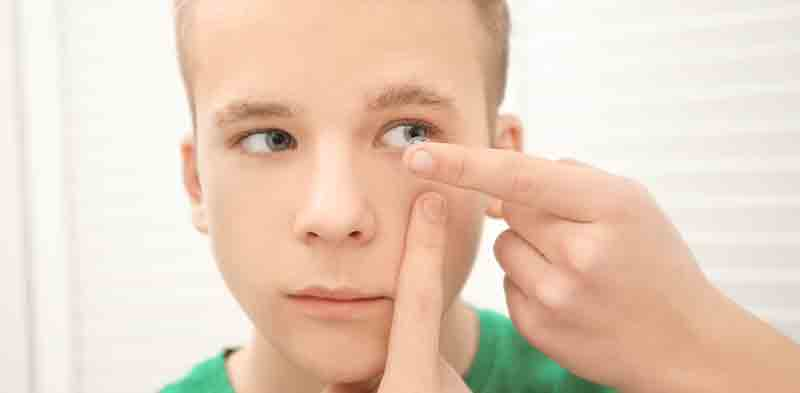 Children & Contact Lenses
